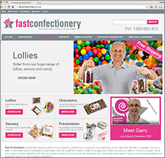 fast confectionery website