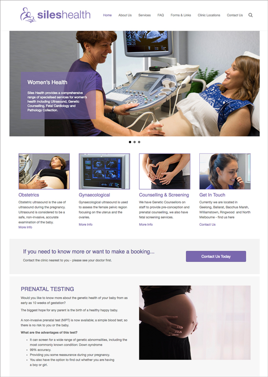 siles health website