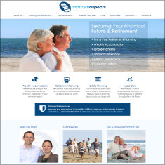 financial aspects websites
